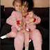 Blac Chyna And her Kids Rock Matching Pyjamas (Photos)