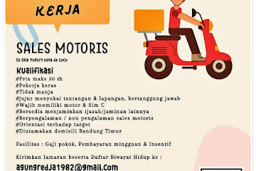 Loker Bandung Sales Motoris Vayo Gurt Bandung