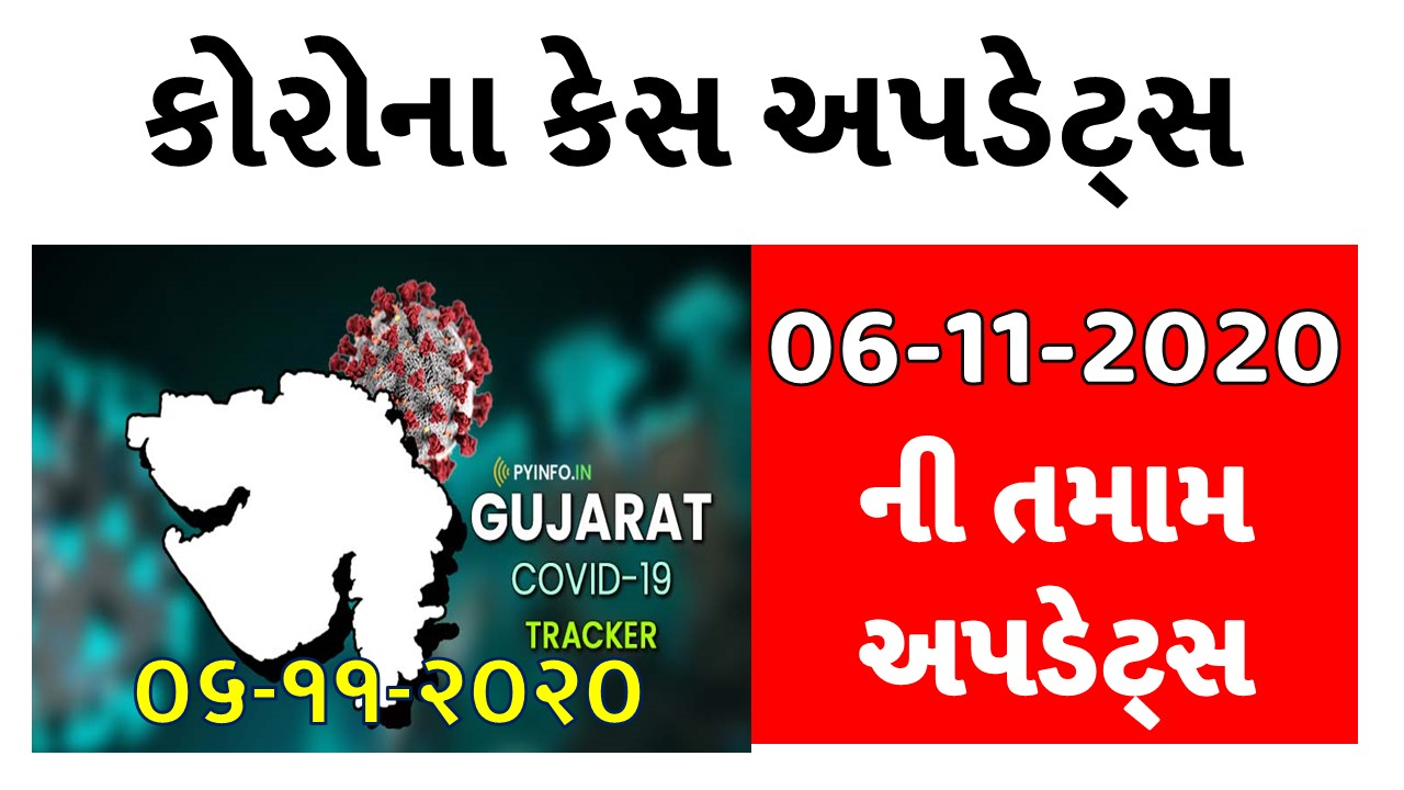 [06-11-2020] Gujarat Corona Cases Today District Wise Updates - Official Press Note PDF