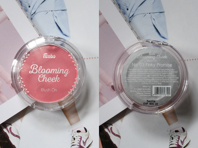 Fanbo Blooming Cheek Blush On