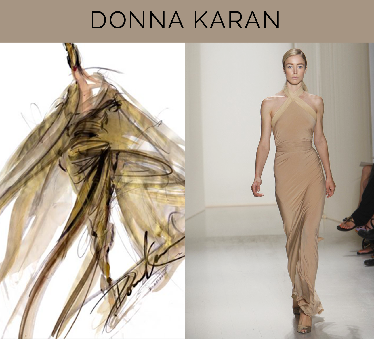 Fabulous Doodles Fashion Illustration Blog By Brooke Hagel Donna Karan End Of An Era
