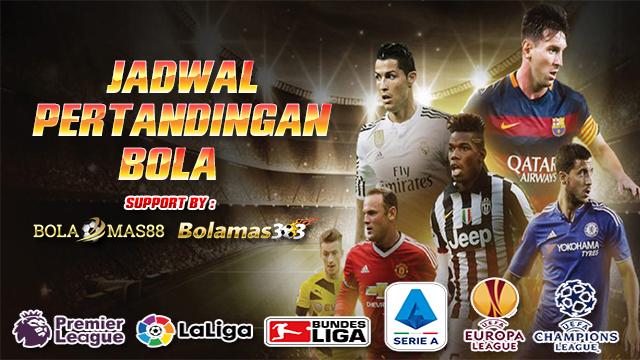 Jadwal Pertandingan Bola 1 - 2 Oktober 2019