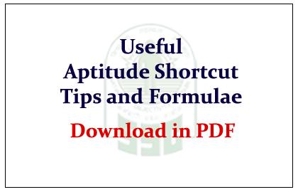 Shortcut Methods For Quantitative Aptitude Pdf Download