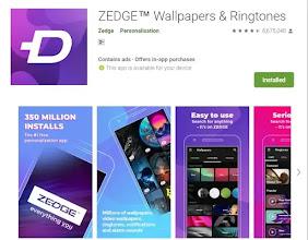 Zedge Photo Downlaod Krane Wala app