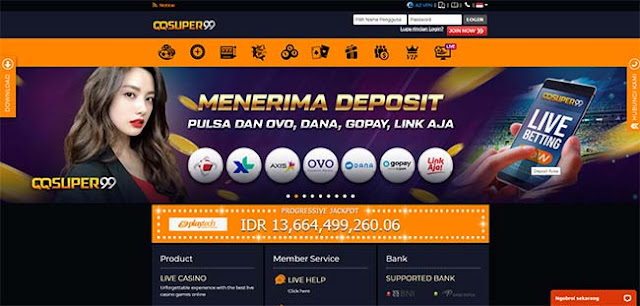 Link Alternatif Situs Deposit Pulsa QQSUPER99 Termurah