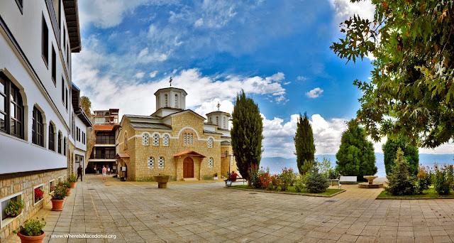 Holy Mother of God church - Kalishta Monastery near Struga, Macedonia
