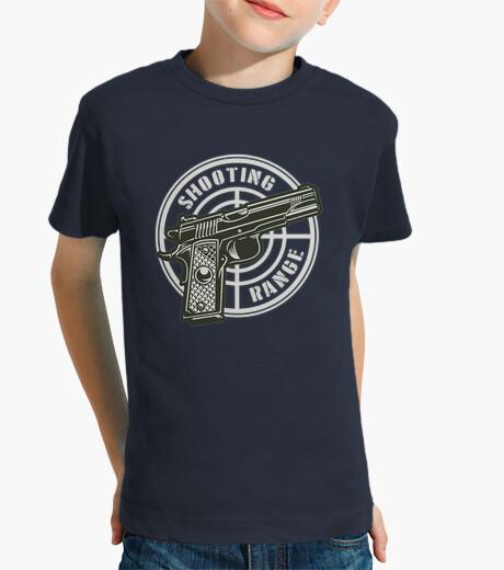 Camisetas Niño - Diseño Shooting Range