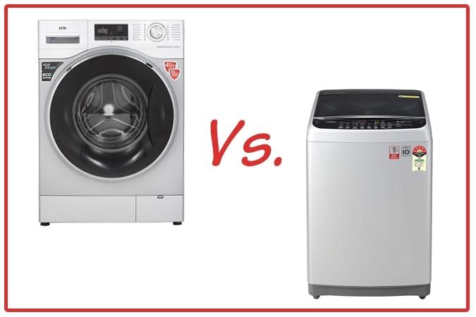 IFB Senator WXS (left) and LG T80SJSF1Z (right) Washing Machines.