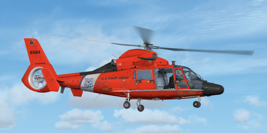 Fsx P3d Cera As365n3 Helicopter Master Addons