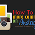 Buy Instagram Comments For $1 [Guaranteed Service]