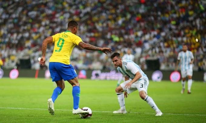 Brasil vence Argentina por 2 a 0 e vai à final da Copa América