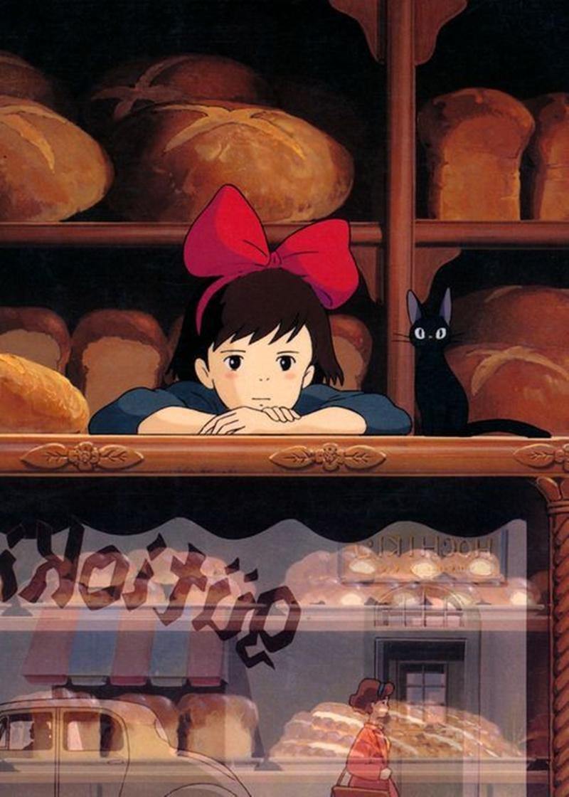 Wallpapers fofos dos filmes Studio Ghibli para celular!