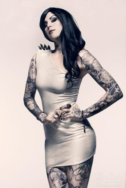 Las 10 Mujeres Tatuadas Más Lindas Y Sexis Del Mundo