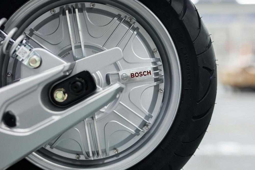 Động cơ Bosch trên xe máy điện VinFast đáp ứng tiêu chuẩn chống bụi và nước IP67
