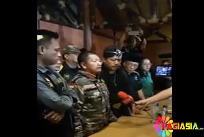 Ketua GMBI menyatakan SIAP PERANG Melawan FPI