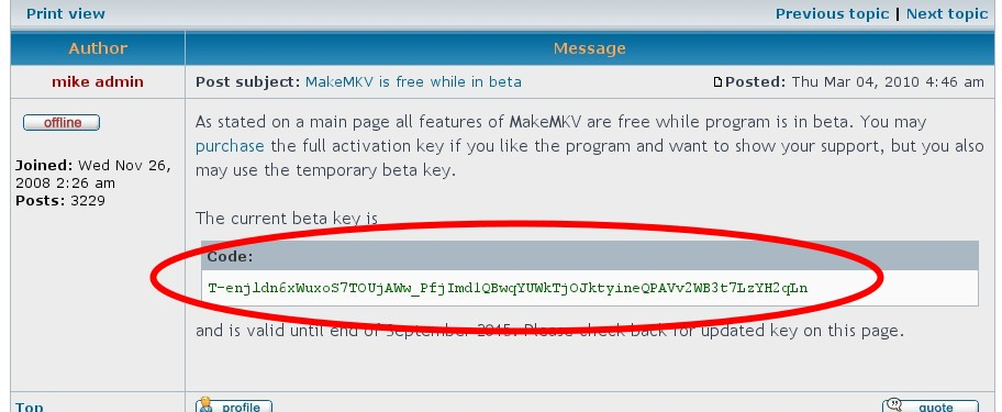 Make mkv activation code | MakeMKV beta registration key