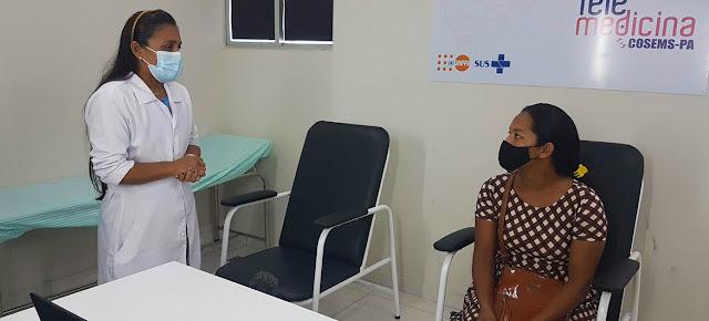 Una mujer en consulta médica en un hospital de Brasil© UNFPA Brazil