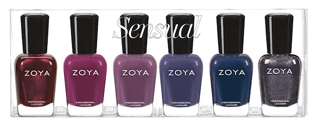 Zoya Fall 2019 Sensual Collection Sampler B