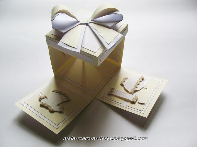 Jak zrobić pudełko exploding box? DIY