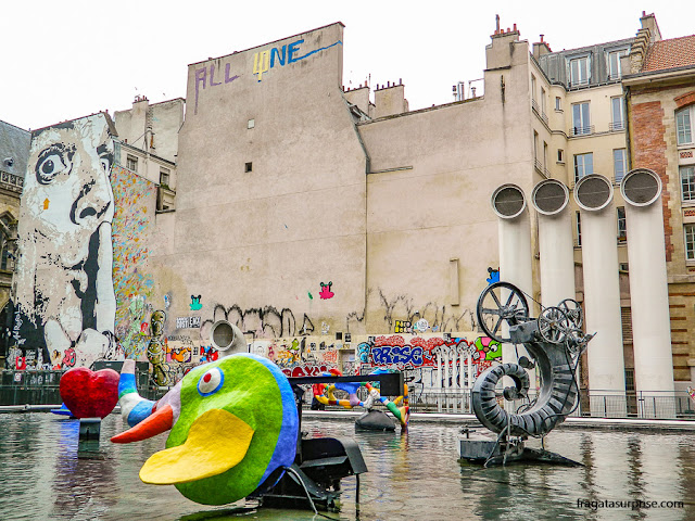 Praça Igor Stravinski, Paris