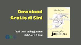 """Download Gratis Ebook """"Puisi-puisi paling jamban"""" di Sini"""