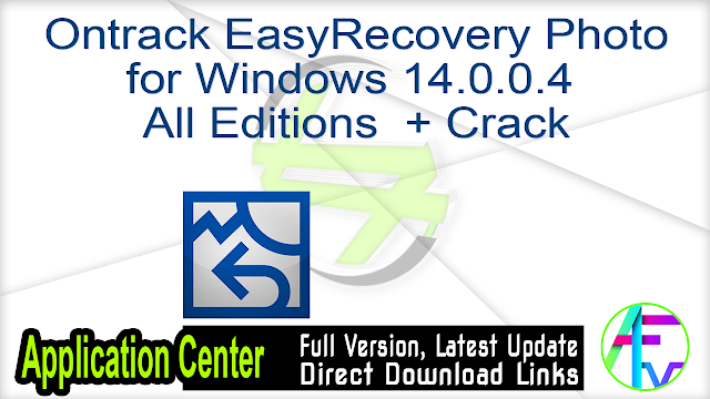 Ontrack EasyRecovery Photo for Windows 14.0.0.4 All Editions + Crack