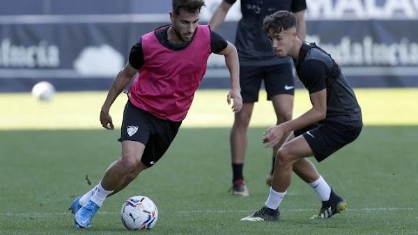 Málaga, sesión del viernes con 15 jugadores profesionales