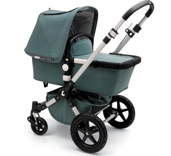 Balsam green Bugaboo Kite stroller