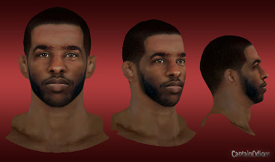 NBA 2K13 Chris Paul Cyberface Mod
