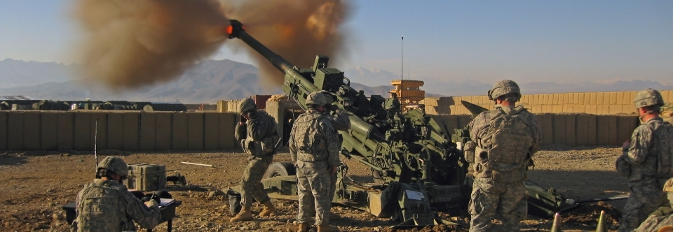 US M777 Light Towed Howitzer, War in Afghanistan, 2009