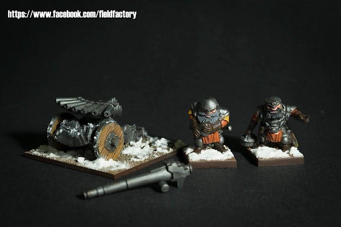 Enanos Kings of War.