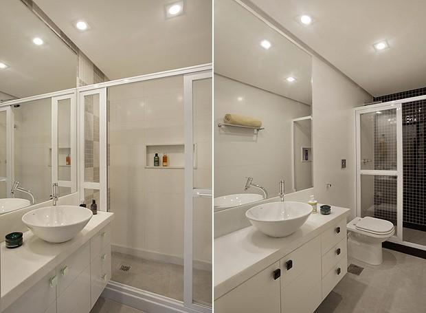 Apartamento decorado funcional e moderno decora o e ideias for Modelos de apartamentos pequenos modernos