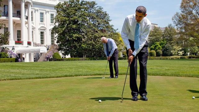 La prensa critica que Obama jugara al golf tras los atentados de Ankara y Berlín