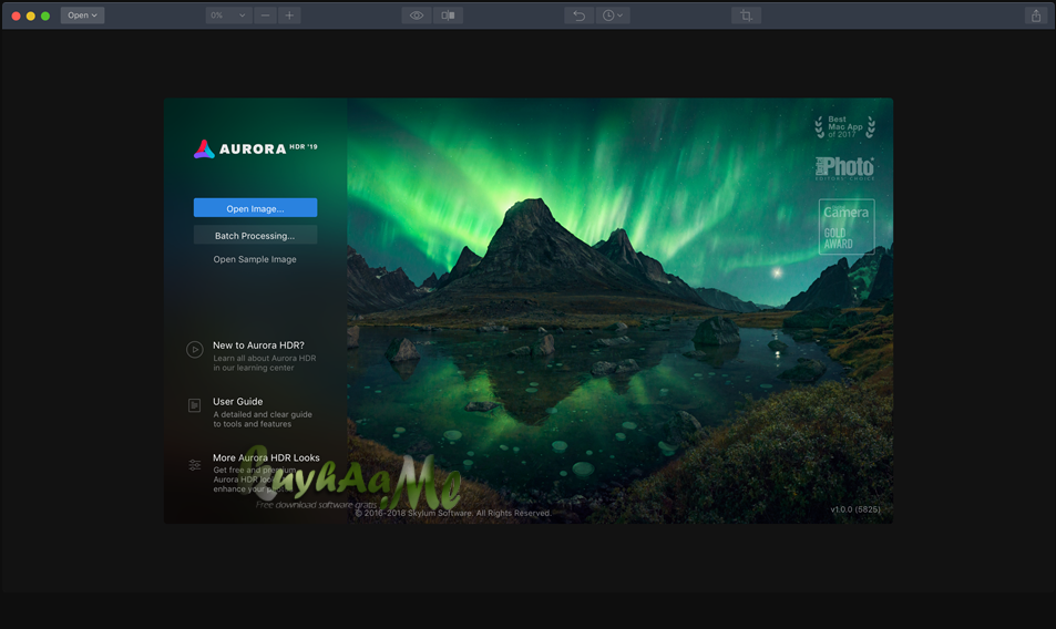Aurora HDR 2019 For Mac Full