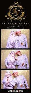 Our Wedding Story ~ Fauzee & Faizah ~ Resepsi ~ Valiton Photo Booth
