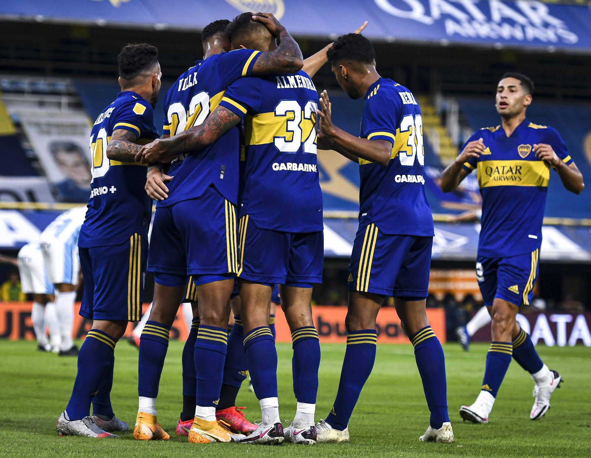 Boca mostró su contundencia frente a Atlético Tucumán y es escolta de Vélez