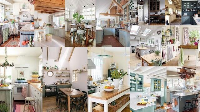 30+ Κουζίνες σε εξοχικό - χωριάτικο στυλ