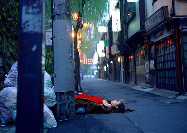 Doctor Ojiplático. Izima Kaoru. Landscape With A Corpse