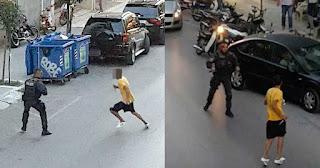 Καρέ-Καρέ: Αιγύπτιος που μαχαίρωσε αστυνομικό στην Καλαμάτα στο εδώλιο
