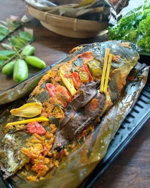 Resep Bumbu Pepes Ikan Mas, Patin, Nila, Kembung, Pindang, Mudah dan Enak