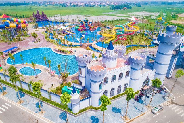 Công viên nước Thanh Hà – khu vui chơi giải trí với quy mô lên tới 18.732m2.