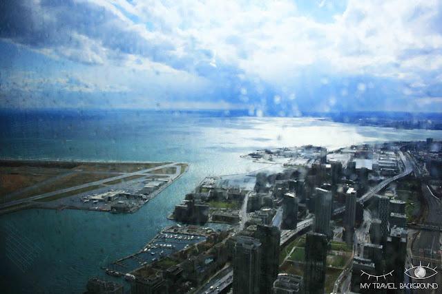 My Travel Background : 4 jours au Canada, en haut de la Tour CN de Toronto
