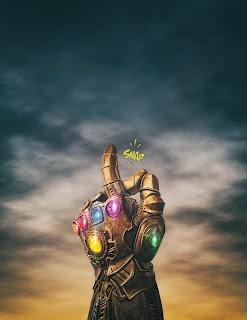 Thanos Snap Mobile HD Wallpaper