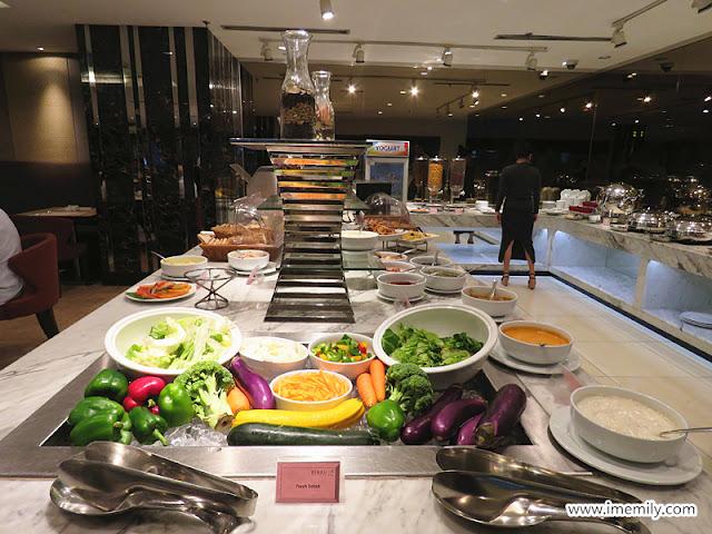Best Western Petaling Jaya Hotel breakfast spread