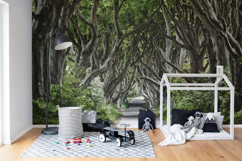 tapeta las dla dzieci