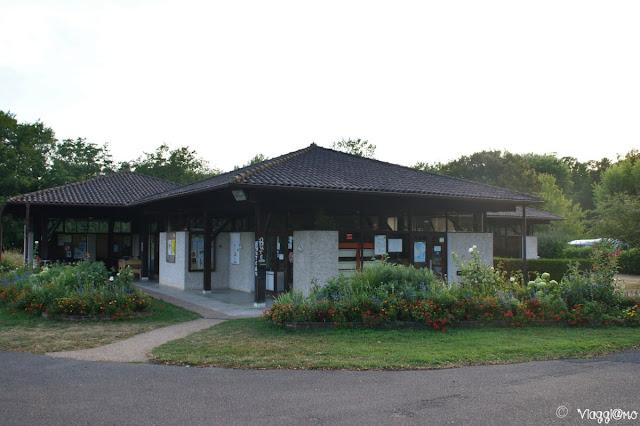 Il Campeggio Municipale del paese di Chatillon sur Chalaronne
