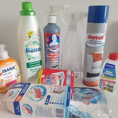 biten temizlik ürünleri