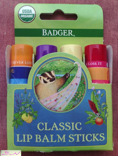lip balm badger