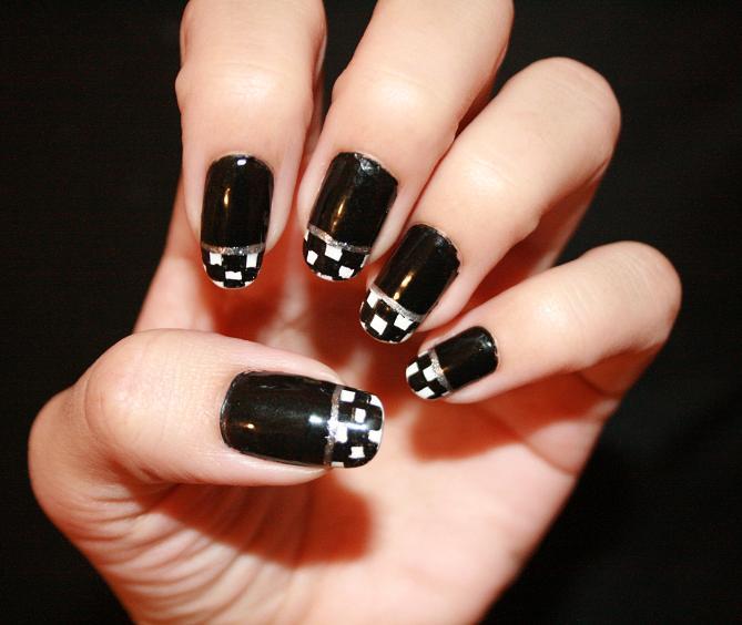 Racing nails racing nails for sportive girls gallery prinsesfo Images - Racing Nail Art Images - Nail Art And Nail Design Ideas