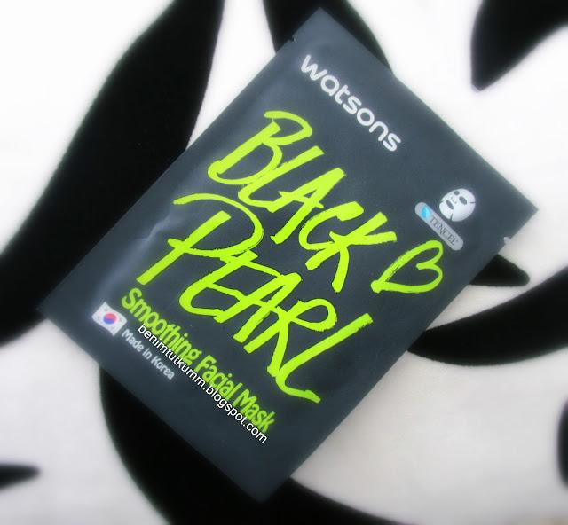 Tencel Black Pearl Smoothing Facial Mask - Pürüzsüzleştirici Siyah İnci